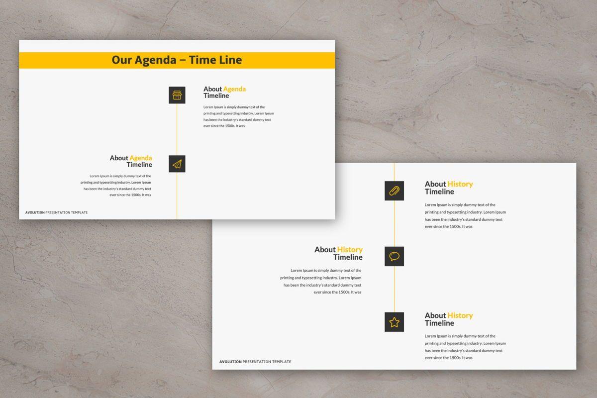 Avolution Creative Google Slide, Slide 6, 05994, Presentation Templates — PoweredTemplate.com