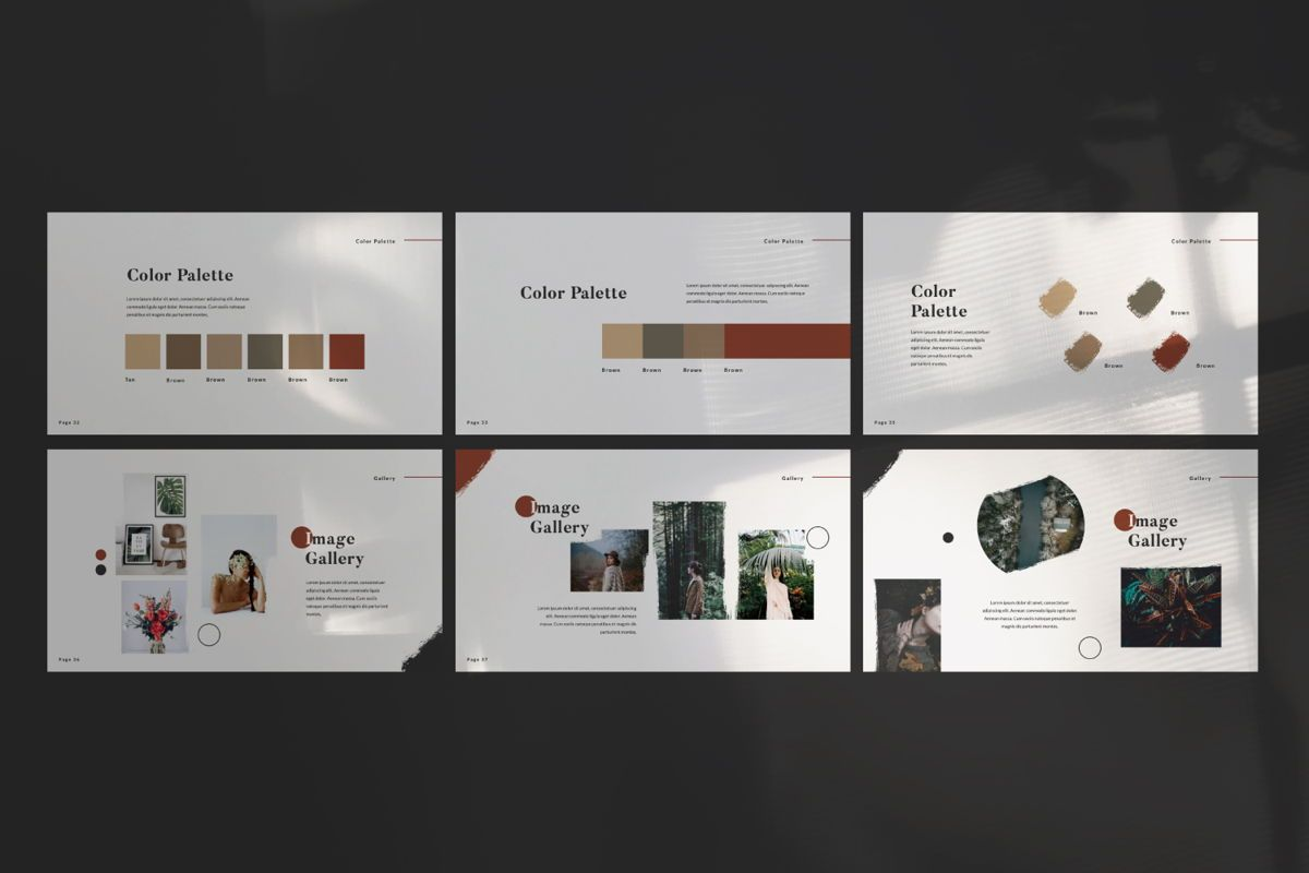 Dramatic Brand Google Slide, Slide 6, 05997, Presentation Templates — PoweredTemplate.com
