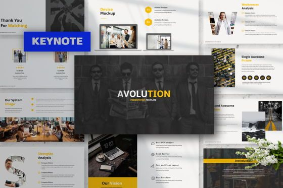 Presentation Templates: Avolution Creative Keynote #05998