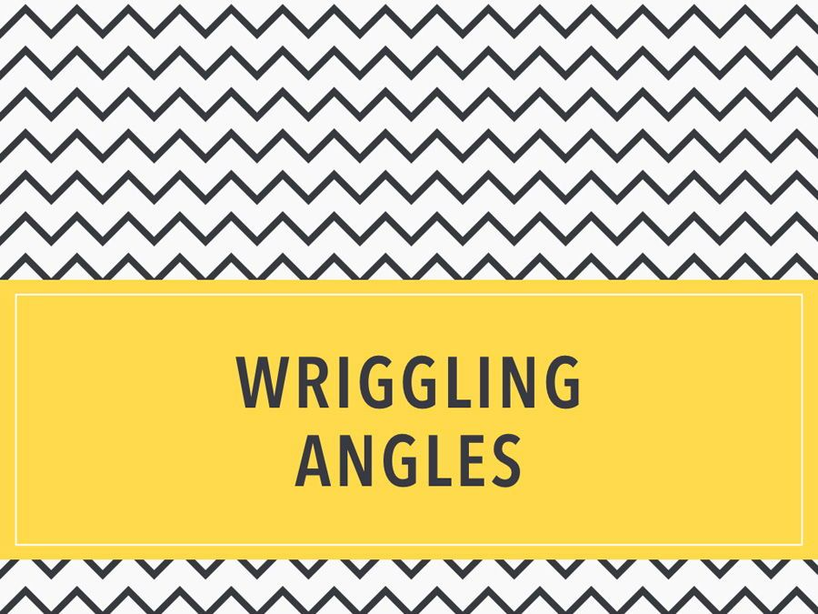 Wriggling Angles PowerPoint Template, Slide 9, 05999, Presentation Templates — PoweredTemplate.com