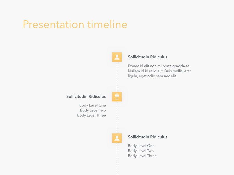Sunny Delight Keynote Template, Slide 18, 06004, Presentation Templates — PoweredTemplate.com