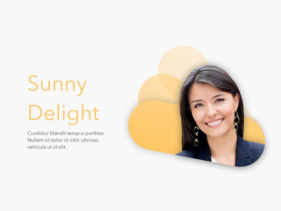 Sunny Delight Keynote Template, Slide 2, 06004, Presentation Templates — PoweredTemplate.com
