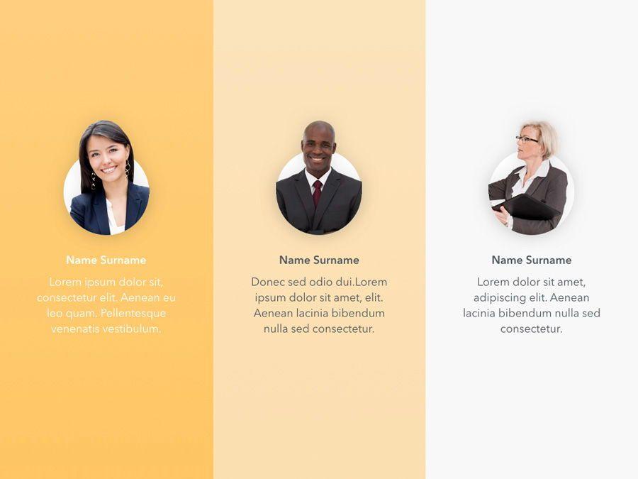 Sunny Delight Keynote Template, Slide 8, 06004, Presentation Templates — PoweredTemplate.com