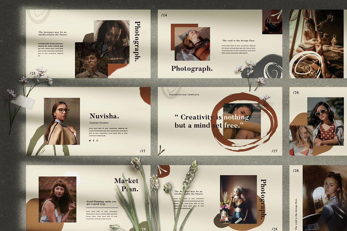 Flattener Creative Powerpoint, Slide 5, 06005, Presentation Templates — PoweredTemplate.com