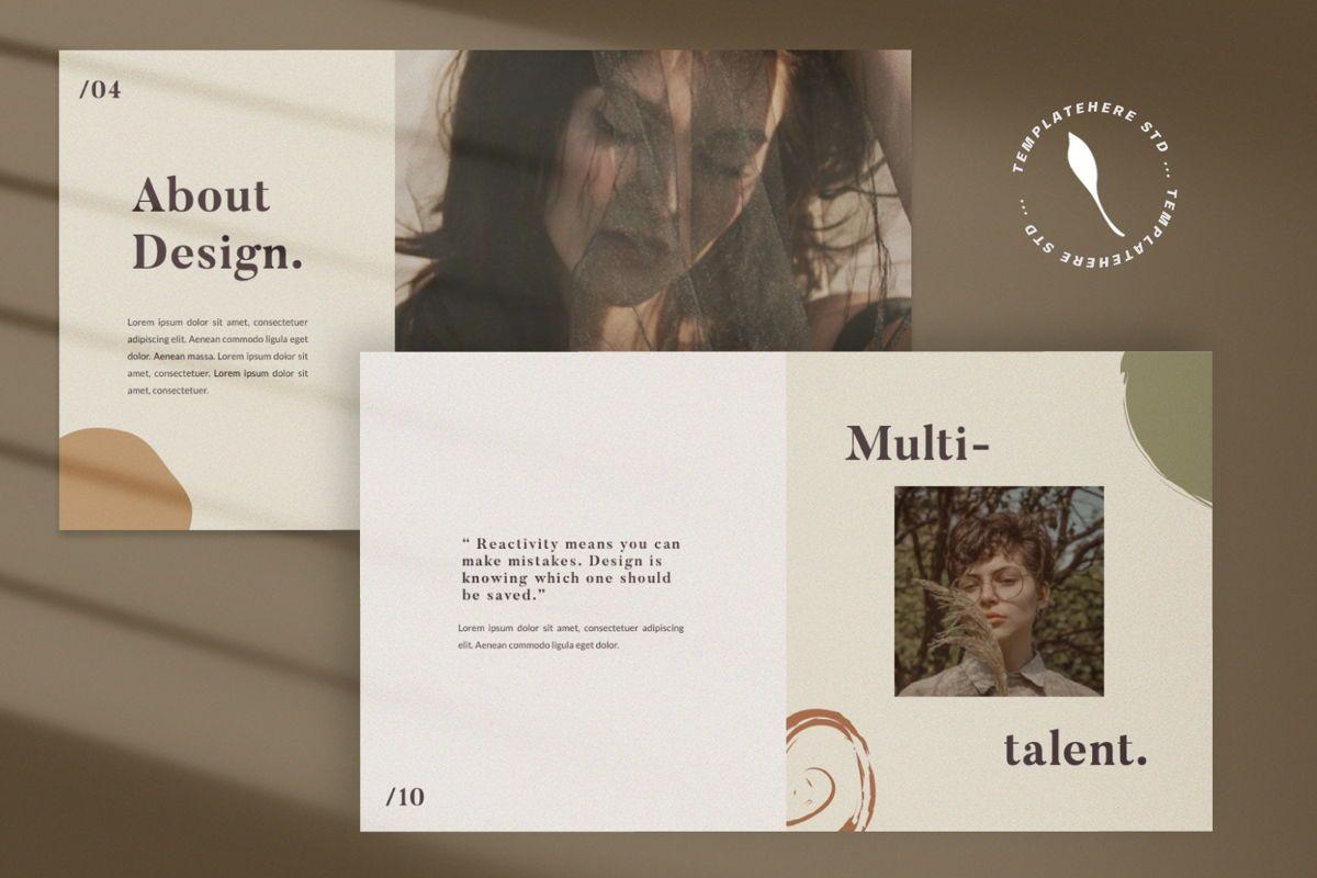 Flattener Creative Google Slide, Slide 4, 06007, Presentation Templates — PoweredTemplate.com