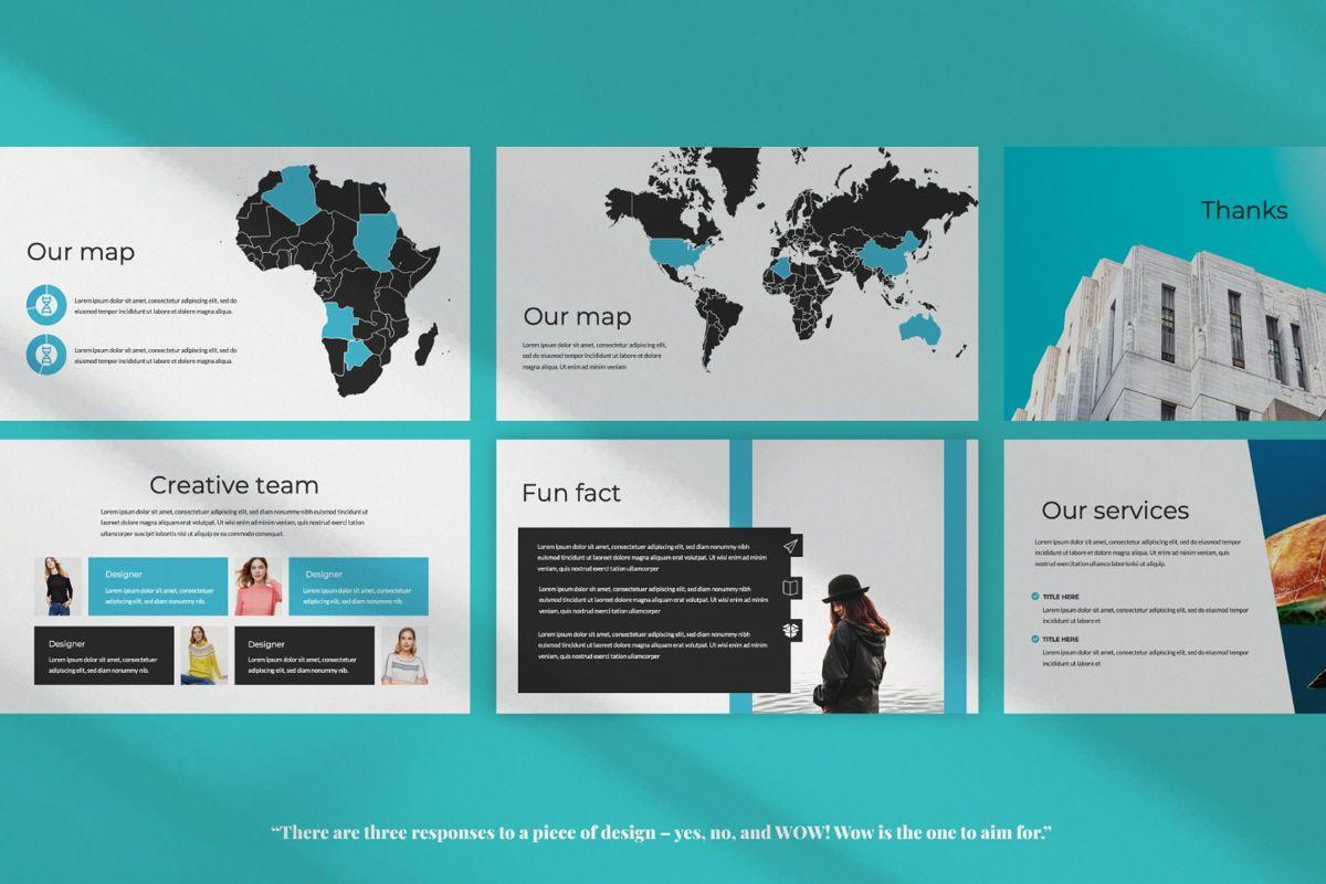 Aqua Business Keynote, Slide 6, 06009, Presentation Templates — PoweredTemplate.com