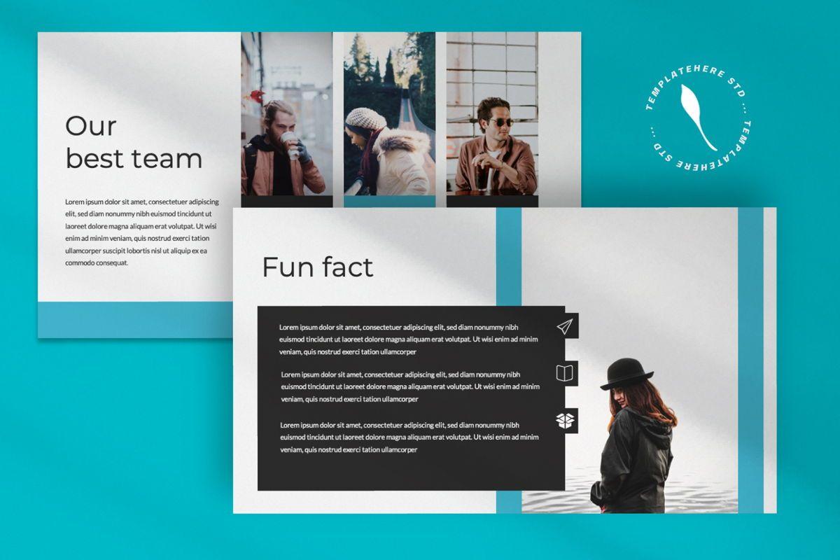 Aqua Business Keynote, Slide 7, 06009, Presentation Templates — PoweredTemplate.com