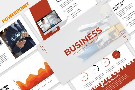 Presentation Templates: Business Powerpoint Template #06011