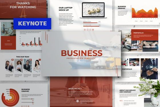 Presentation Templates: Business Keynote Template #06012