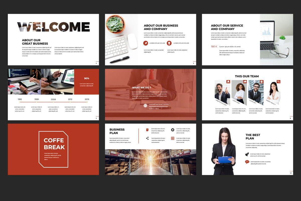 Business Google Slide Theme, Slide 2, 06013, Presentation Templates — PoweredTemplate.com