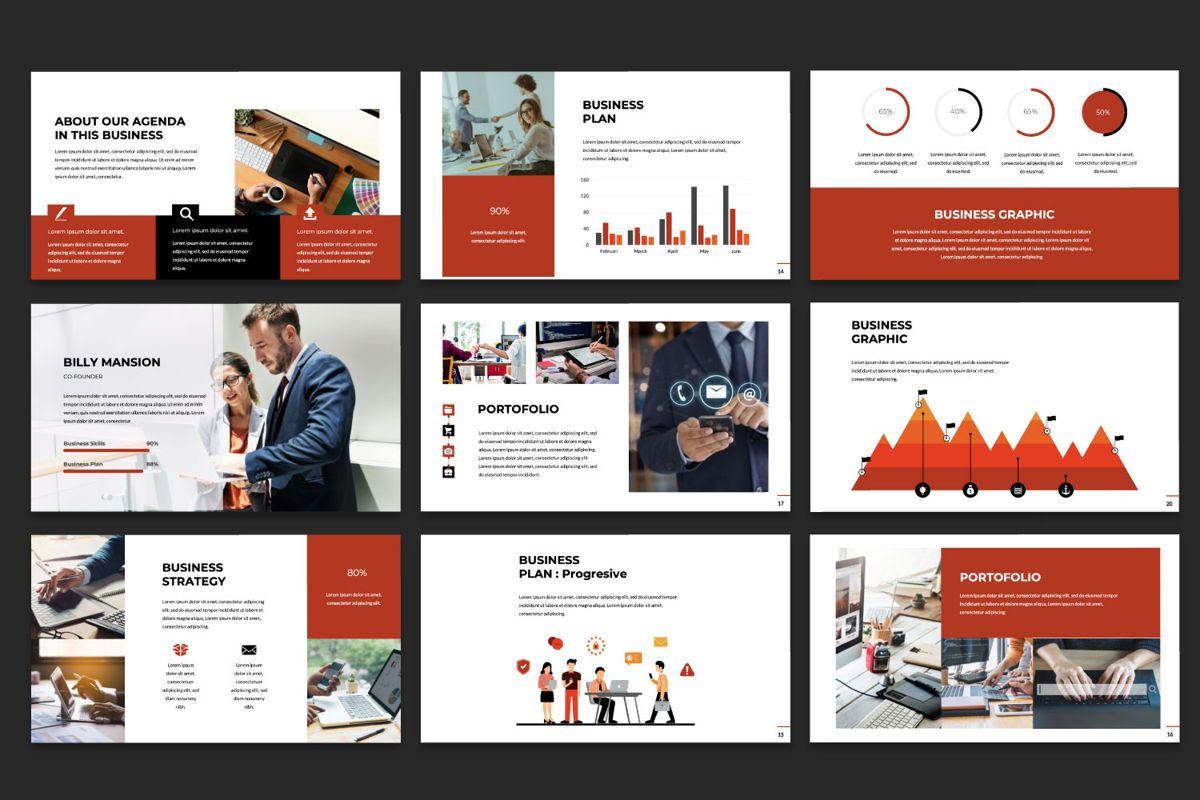 Business Google Slide Theme, Slide 4, 06013, Presentation Templates — PoweredTemplate.com