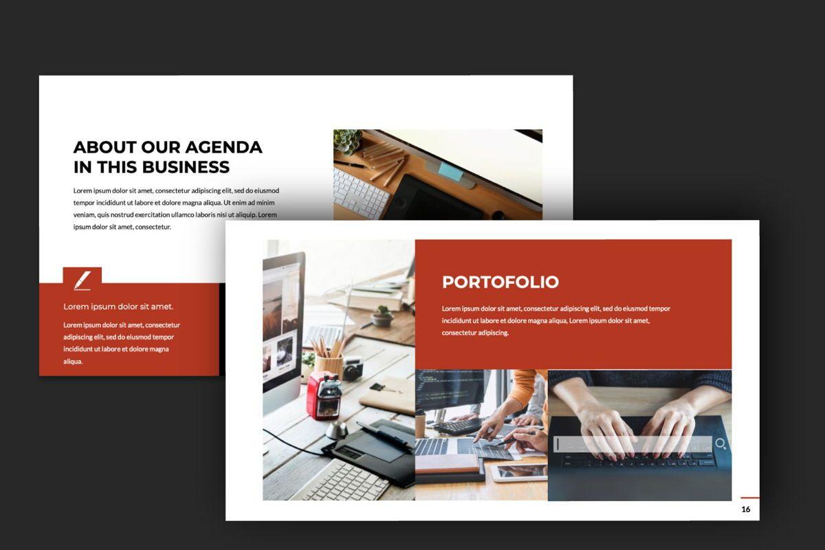 Business Google Slide Theme, Slide 6, 06013, Presentation Templates — PoweredTemplate.com