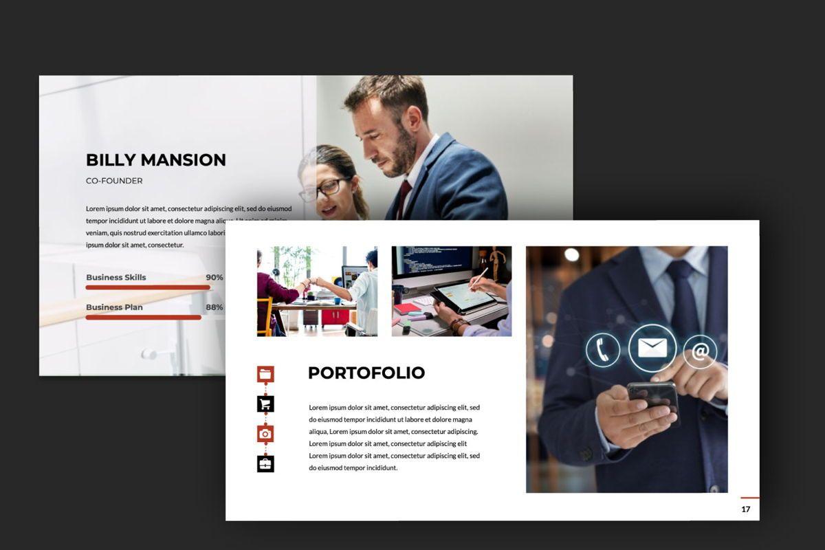 Business Google Slide Theme, Slide 7, 06013, Presentation Templates — PoweredTemplate.com