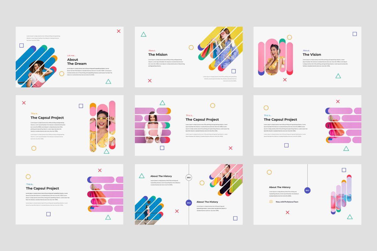 Capsul Business Google Slide, Slide 2, 06024, Presentation Templates — PoweredTemplate.com