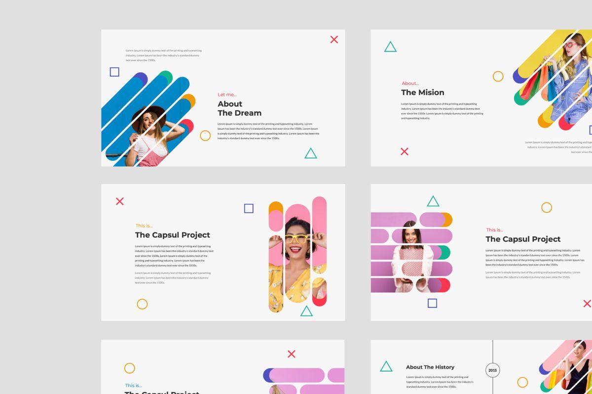 Capsul Business Google Slide, Slide 5, 06024, Presentation Templates — PoweredTemplate.com