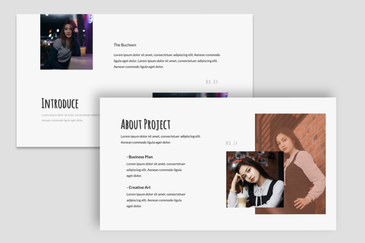 Bucheen Creative Powerpoint, Slide 5, 06031, Presentation Templates — PoweredTemplate.com