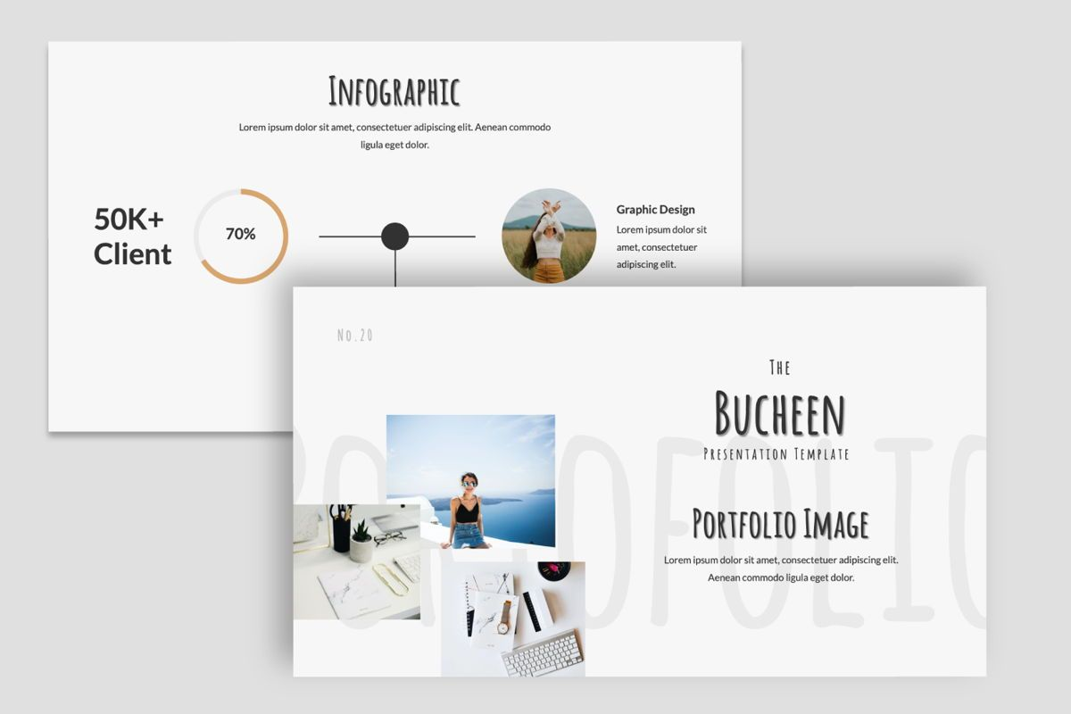 Bucheen Creative Powerpoint, Slide 6, 06031, Presentation Templates — PoweredTemplate.com