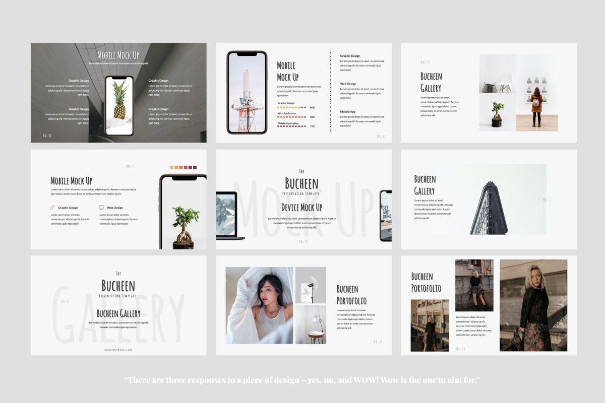 Bucheen Creative Google Slide, Slide 9, 06033, Presentation Templates — PoweredTemplate.com