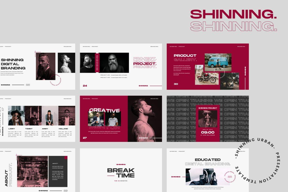 Shinning Creative Keynote, Slide 2, 06035, Presentation Templates — PoweredTemplate.com