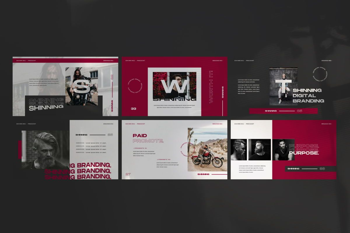 Shinning Creative Keynote, Slide 6, 06035, Presentation Templates — PoweredTemplate.com