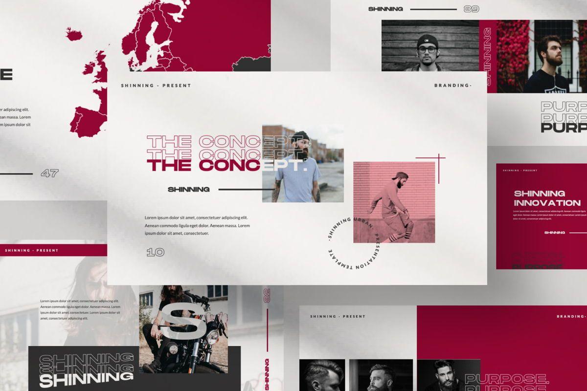 Shinning Creative Keynote, Slide 7, 06035, Presentation Templates — PoweredTemplate.com
