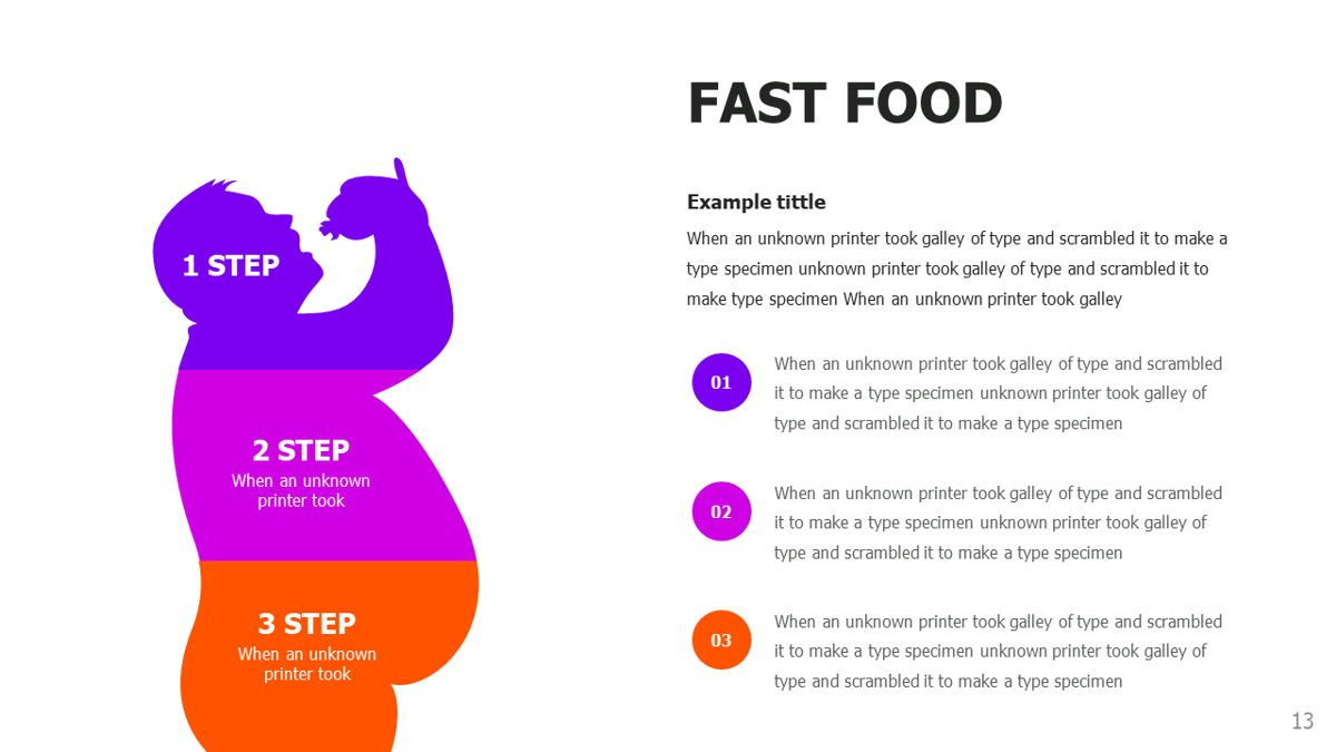 Food and Nutrition Presentation Infographics, Slide 13, 06037, Infographics — PoweredTemplate.com