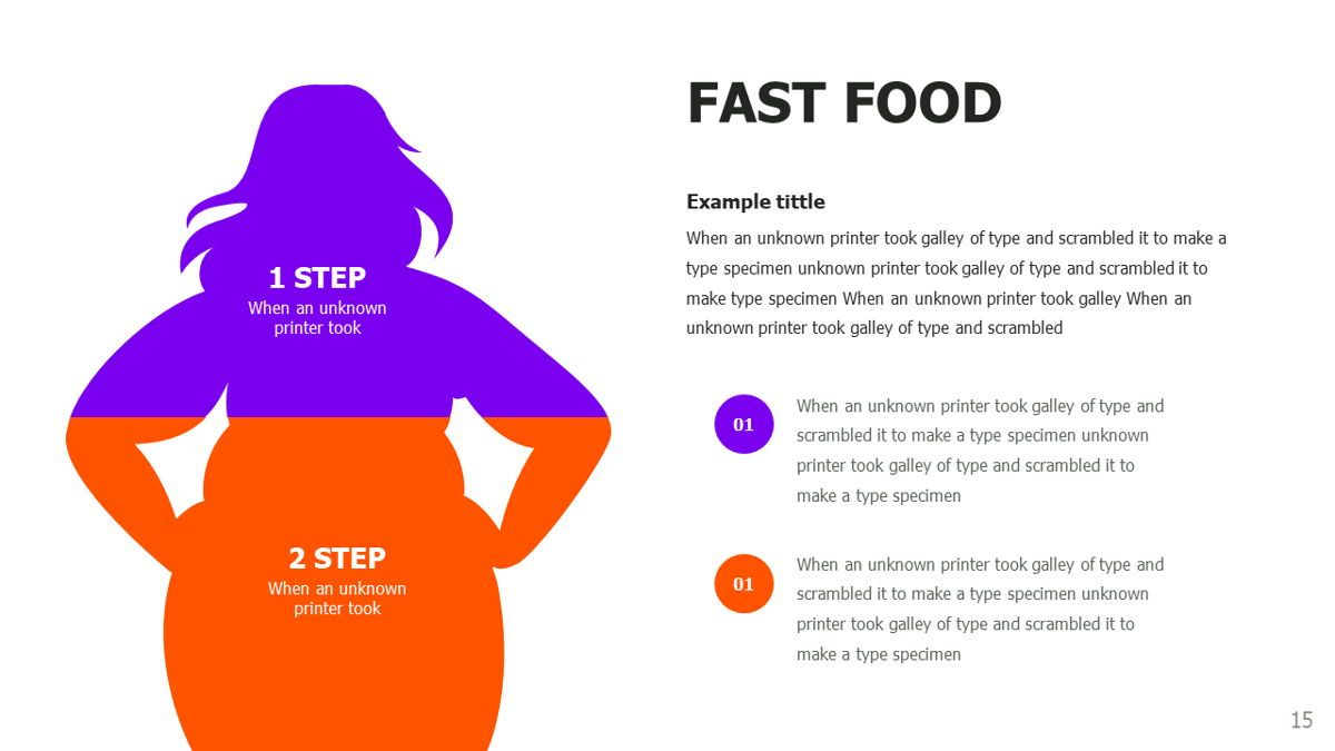 Food and Nutrition Presentation Infographics, Slide 15, 06037, Infographics — PoweredTemplate.com