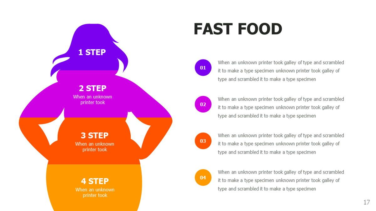 Food and Nutrition Presentation Infographics, Slide 17, 06037, Infographics — PoweredTemplate.com