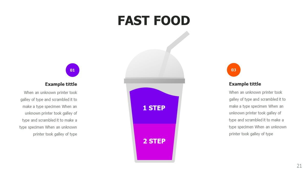 Food and Nutrition Presentation Infographics, Slide 21, 06037, Infographics — PoweredTemplate.com