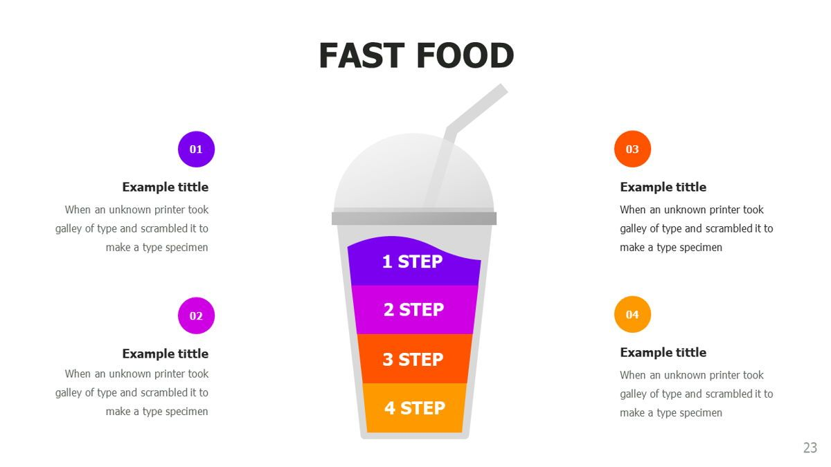 Food and Nutrition Presentation Infographics, Slide 23, 06037, Infographics — PoweredTemplate.com