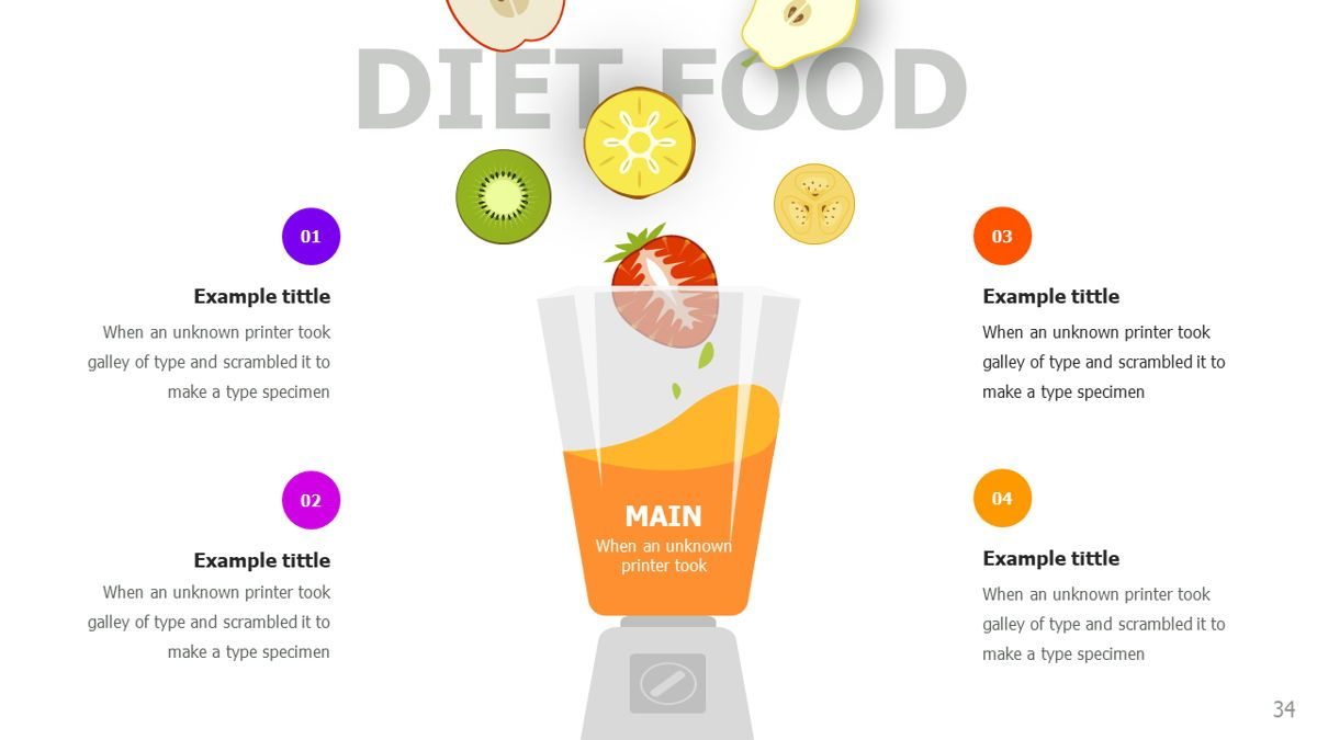 Food and Nutrition Presentation Infographics, Slide 34, 06037, Infographics — PoweredTemplate.com