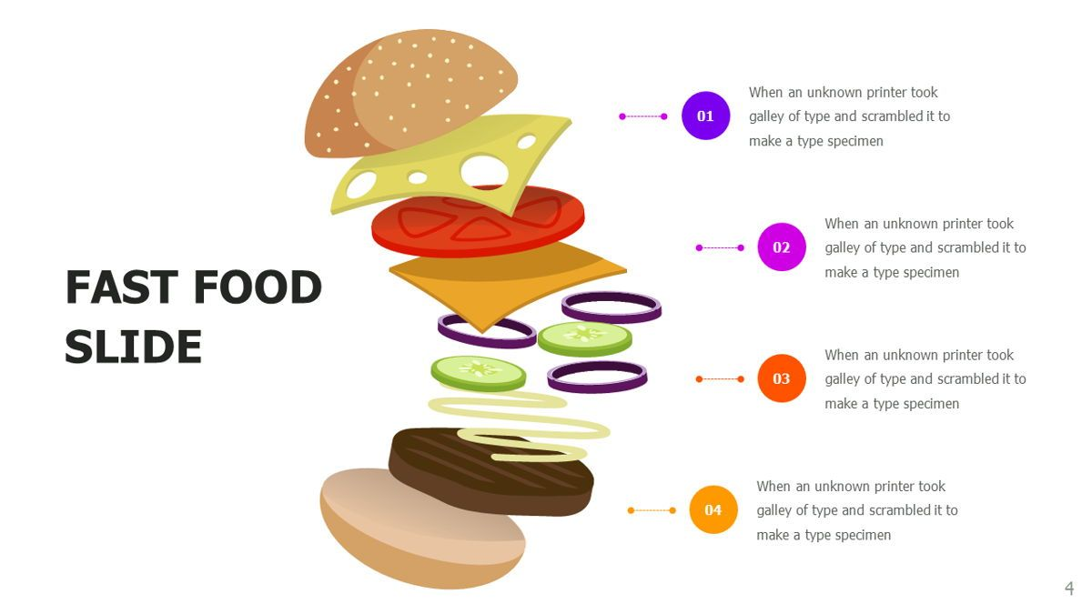 Food and Nutrition Presentation Infographics, Slide 4, 06037, Infographics — PoweredTemplate.com