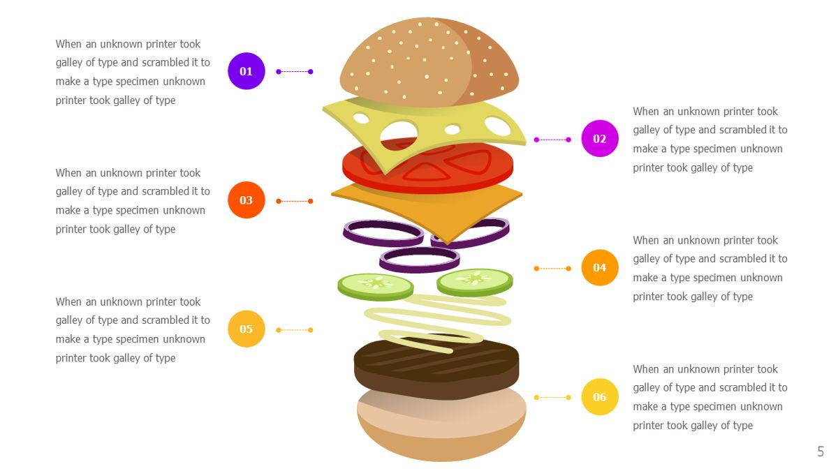 Food and Nutrition Presentation Infographics, Slide 5, 06037, Infographics — PoweredTemplate.com