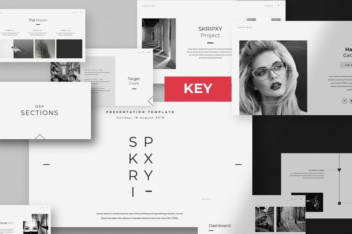 Skripxy Creative Keynote, 06039, Presentation Templates — PoweredTemplate.com