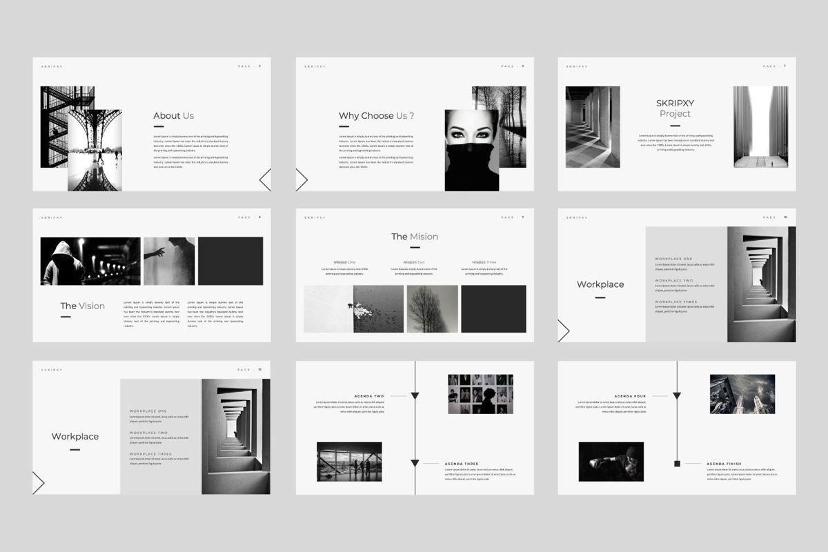 Skripxy Creative Keynote, Slide 2, 06039, Presentation Templates — PoweredTemplate.com