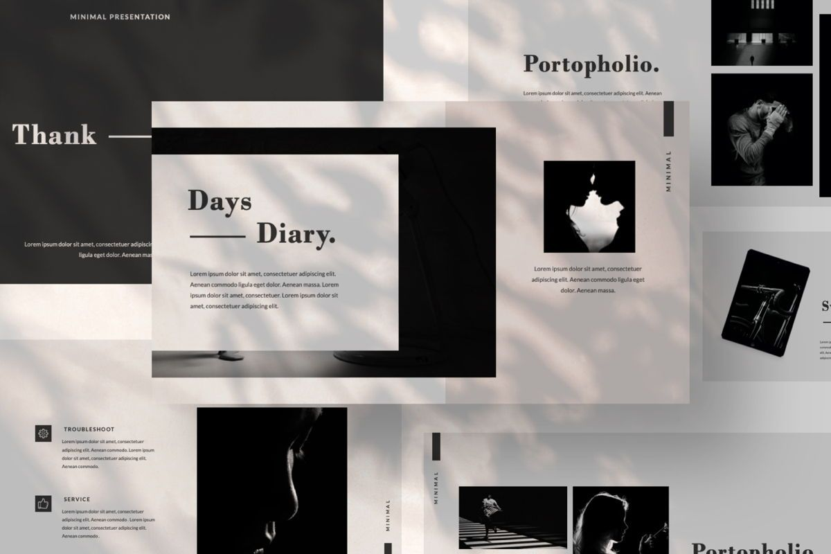 Days Creative Google Slide, Slide 5, 06042, Presentation Templates — PoweredTemplate.com