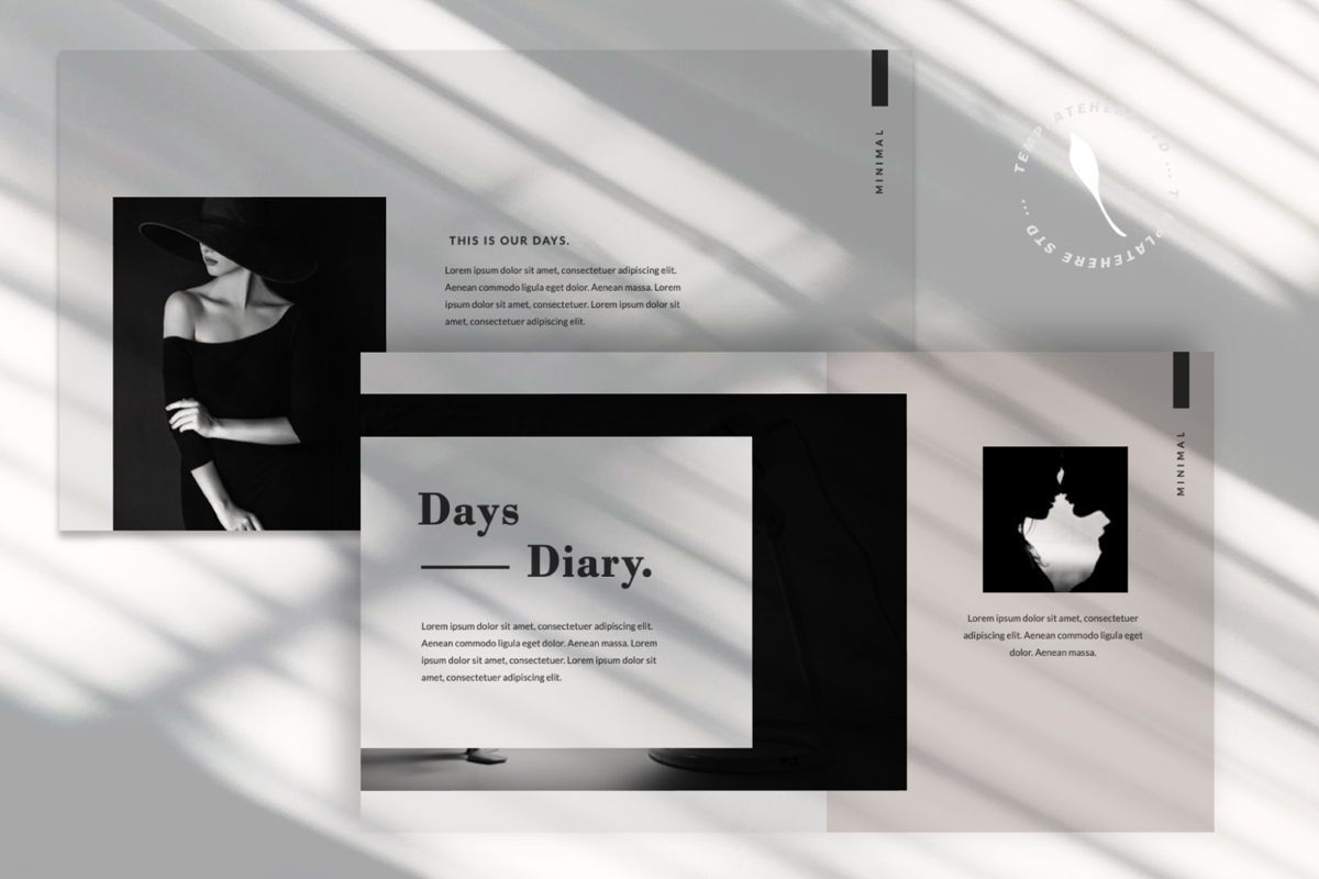 Days Creative Google Slide, Slide 8, 06042, Presentation Templates — PoweredTemplate.com