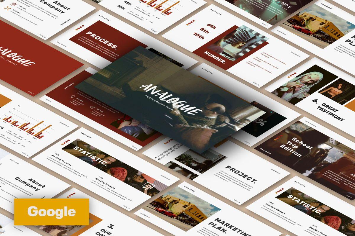 Analogue Brand Google Slide, 06049, Presentation Templates — PoweredTemplate.com
