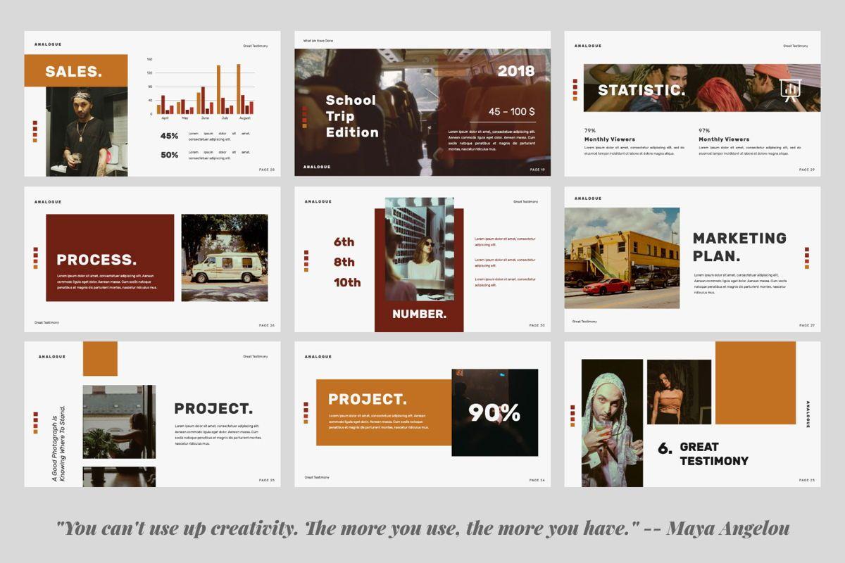 Analogue Brand Google Slide, Slide 3, 06049, Presentation Templates — PoweredTemplate.com