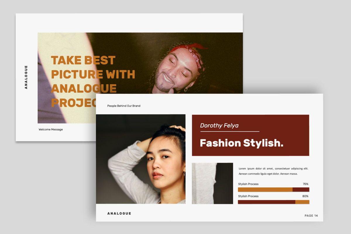 Analogue Brand Google Slide, Slide 5, 06049, Presentation Templates — PoweredTemplate.com
