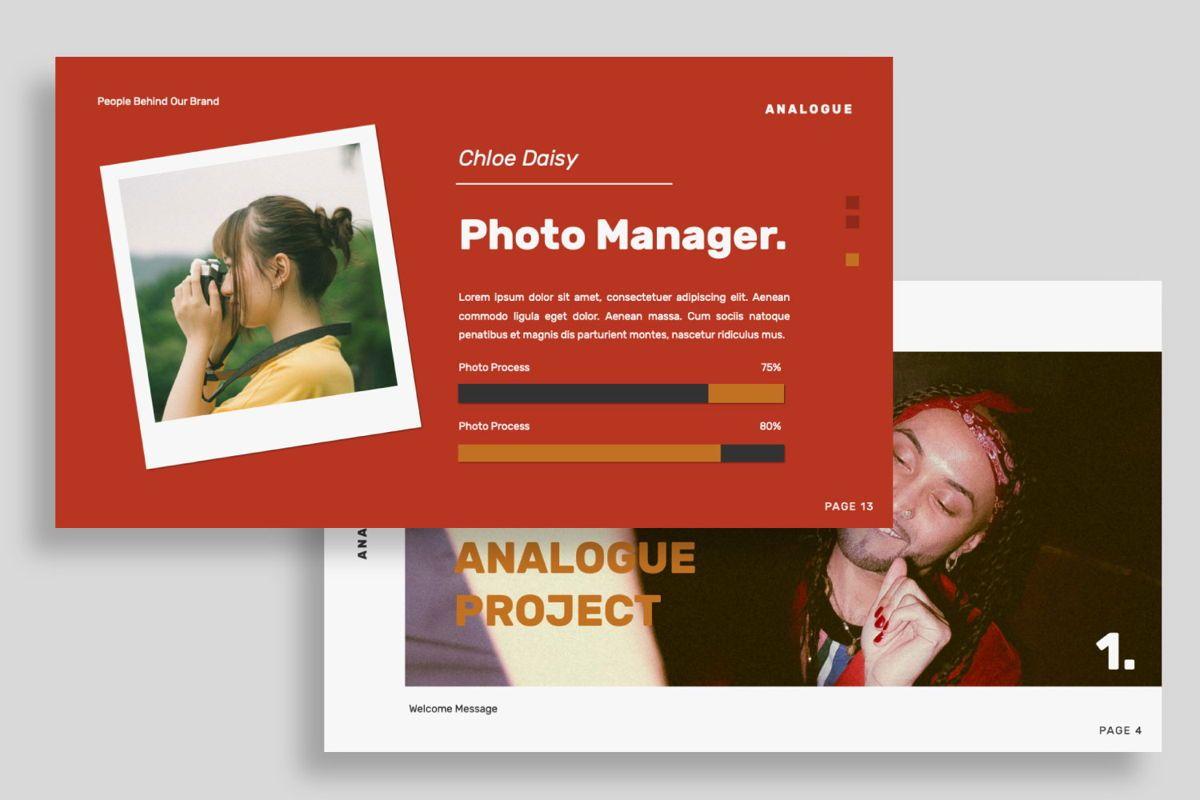 Analogue Brand Google Slide, Slide 6, 06049, Presentation Templates — PoweredTemplate.com