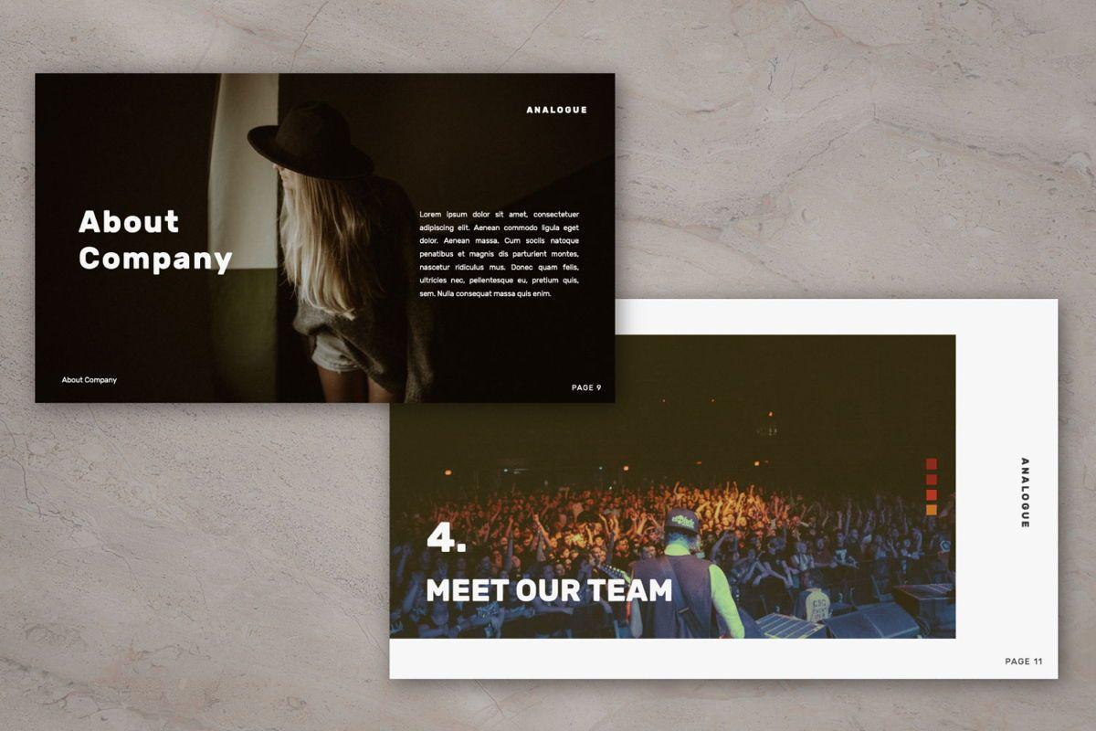 Analogue Brand Google Slide, Slide 7, 06049, Presentation Templates — PoweredTemplate.com