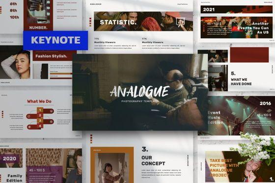 Presentation Templates: Analogue Brand Keynote #06050