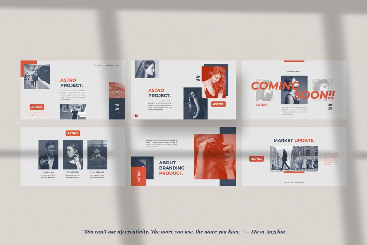 Astro Brand Google Slide, Slide 4, 06053, Presentation Templates — PoweredTemplate.com