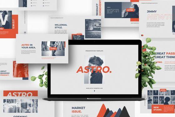 Presentation Templates: Astro Creative Brand Keynote #06054