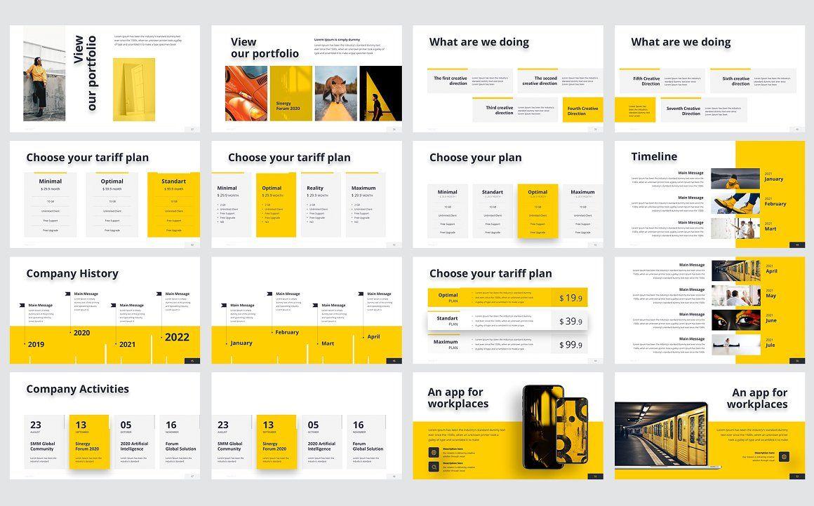 Smash PowerPoint Template, Slide 3, 06055, Business Models — PoweredTemplate.com