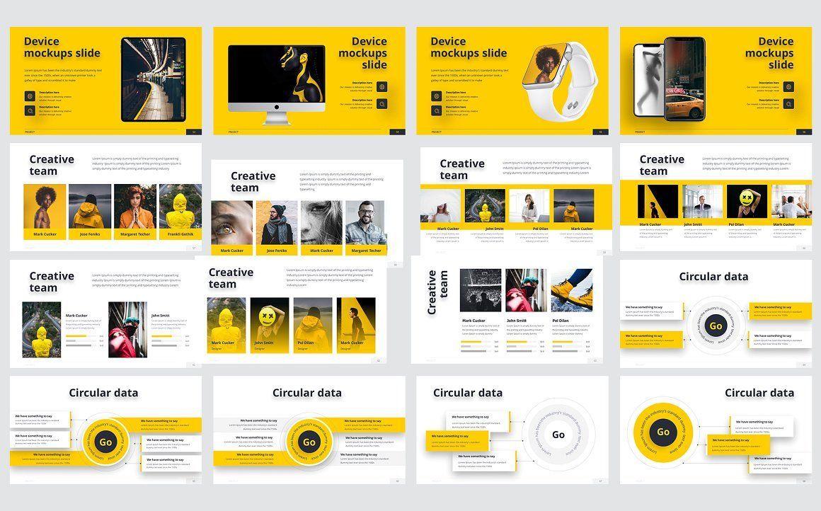 Smash PowerPoint Template, Slide 4, 06055, Business Models — PoweredTemplate.com