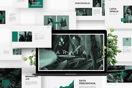 Presentation Templates: Arata Creative Brand Keynote #06057