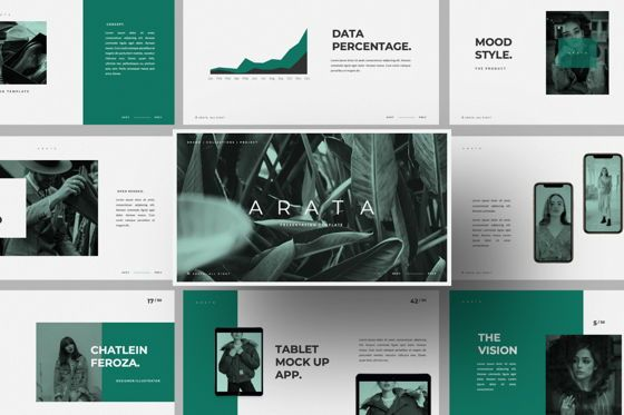 Presentation Templates: Arata Creative Brand Google Slide #06058