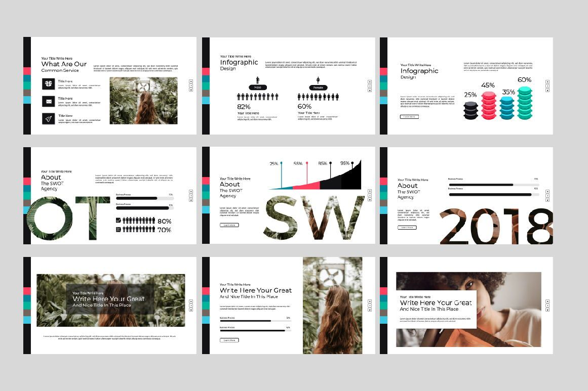 Weird Business Google Slide, Slide 3, 06063, Presentation Templates — PoweredTemplate.com